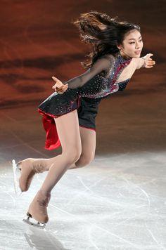 Yuna Kim (Wins Gold in Figure Skating )