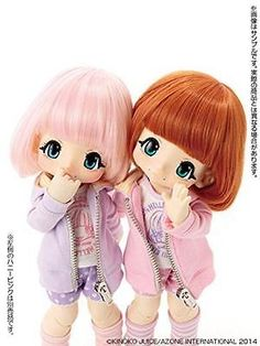 NEW ! Azone Hello KIKIPOP!  Fashion Doll Marmalade Brown In Stock Japan