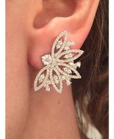 brinco ear cuff cristal zirconias semi joias