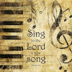 Sing to the Lord, Psalm