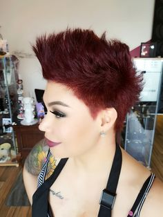 Aveda red