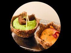 pea mousse in falxseed bowls - langsamfood Mousse, Vegan Food, Vegan Recipes, Vegan Appetizers, Avocado Toast, Easy, Bowls, Seeds, Snacks