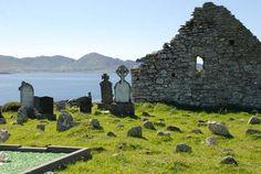 Kilcatherine grave yard, a German film was taken here (An ocean apart from Robin Pilcher)