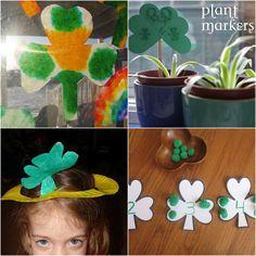 Shamrocks for St. Patrick's Day!