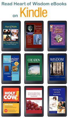 Printable homeschool eBooks read on computer, Kindle or print #Messianic #nutrition #Bible