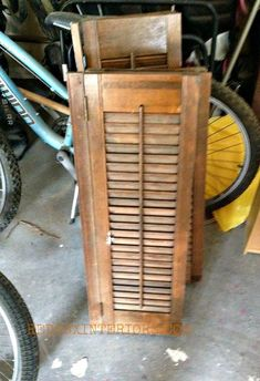 how to paint old shutters and use for decor, home decor, painting, repurposing upcycling, Here is what I started with Everyone bypassed them I purchased them for a song