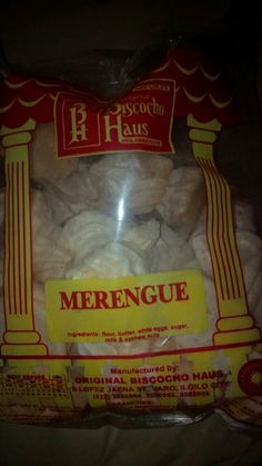Eating #merengue fresh from Ilo-ilo..oh so sweet and yum yum.. #foreverfavorite :)