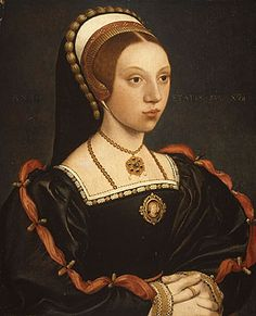 Thought to be a possible portrait of Katherine Howard, Henry VIII's young 5th wife, executed for treason