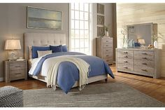 Culverbach Chest of Drawers | Ashley Furniture HomeStore Queen Bedroom, Bedroom Sets, Bedroom Decor, Queen Bedding, Spare Bed, Grey Bedroom Furniture, Upholstered Beds, Leather Furniture, At Home Store