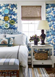 Blue Floral Decor