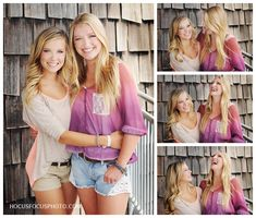 best friends - senior portraits by heather morrow