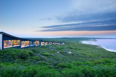 Floating atop a secluded cliff on a rugged stretch of coast, Southern Ocean Lodge offers an unparalleled view into the pristine Kangaroo Island wilderness.