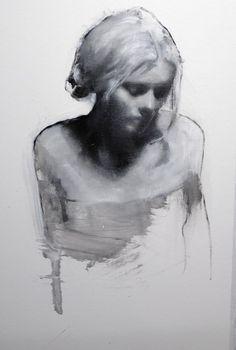 The White Room Gallery, Mark Demsteader Mark Demsteader, Figure Painting, Figure Drawing, Painting & Drawing, Charcoal Portraits, Charcoal Art, Charcoal Drawings, Pencil Portrait, Portrait Art
