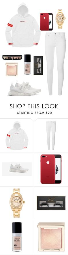 """Savage  🔥🤘🙏"" by bekanadasi ❤ liked on Polyvore featuring Burberry, adidas, Rolex, Boohoo, Jouer and Marc Jacobs"