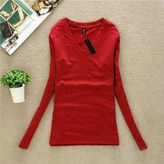 2016 New Autumn Fashion Women Hoodies Casual Shirt V Neck Long Sleeve Ladies Hoodies