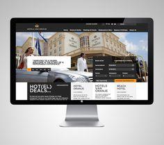 Hotels van Oranje by Deep Graphic Design , via Behance