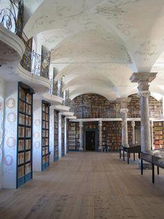 Einsiedeln Monastery Library, Einsiedeln, Switzerland