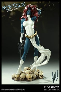 Mystique Comiquette Statue from Sideshow Collectibles