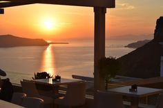 Travel to Santorini ( Places Around The World, Around The Worlds, Greek Restaurants, Santorini, Cn Tower, Seattle Skyline, Greece, Island, Building