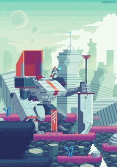 City ruins / Patreon #pixelart