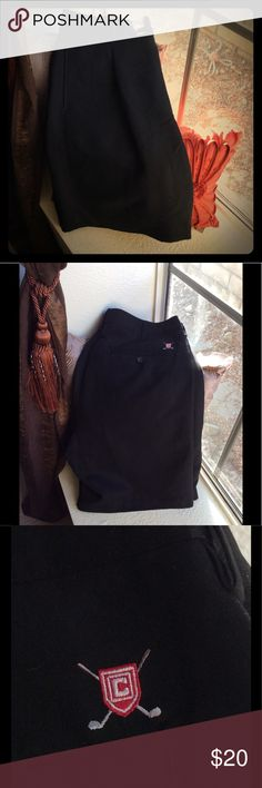 Chaps Dress Shorts Chaps dress shorts for men, black, Size 36, NWT. These shorts were given to my husband as a gift a long night time ago and these were too big but her never went and exchanged them. Chaps Shorts