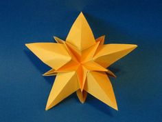 dimensional origami   Dimensional Star em Origami