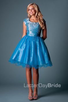 Bridesmaid & Prom, Clancy | LatterDayBride & Prom -Modest Mormon LDS Prom Dress
