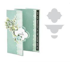 Kaisercraft Card Creations Die - Lattice Card Flip - Artfull Crafts