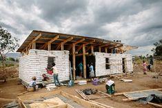 sandbag housing - kenya