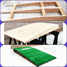 DIY Portable pitching mound