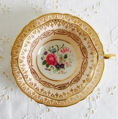 Exquisite Vintage Paragon English Fine Bone China by CTilstonandCo