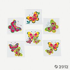 Meaning of butterfly tattoos and pictures of cute and small Butterfly Tattoo designs and images for on the wrist, shoulder, foot or lower back. Butterfly Birthday Party, Luau Birthday, It's Your Birthday, Birthday Party Themes, Birthday Ideas, Rainbow Birthday, Small Butterfly Tattoo, Butterfly Kids, Butterfly Tattoo Designs