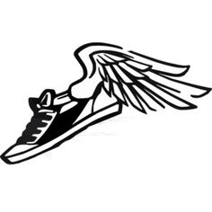 bing free clip art running shoes running running shoe vector clip rh pinterest com athletic shoes clip art nike running shoes clipart