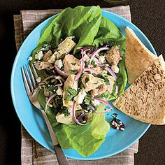 Fast & Fresh brown-bag lunches | Greek Tuna Salad | Sunset.com