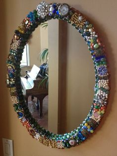 Jewelry Mirror by Fine China Mosaics