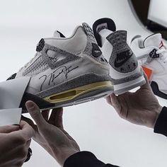 Comparing OG Air Jordan IV vs the 2016 Nike Air retro release. #eukicksmag #