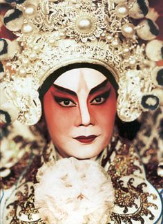 Chinese opera actor Ding Faan