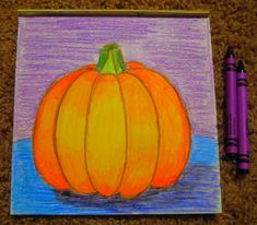 Then comes creating value with colored pencil or crayon via two methods: method one, finding a light, medium and dark of one color and me...