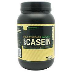 Optimum Nutrition 100% Casein French Vanilla 2 lbs (908 g) - http://healthfitsociety.com/protein/casein-protein-products/optimum-nutrition-100-casein-french-vanilla-2-lbs-908-g/
