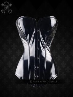 Vynil overbust soft bonning corset