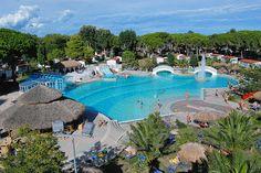 Feriendorf in Lignano Glamping, Am Meer, Swimming Pools, Dolores Park, Places, Outdoor Decor, Travel, Campsite, Travel Destinations