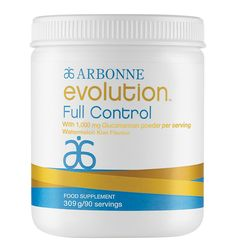 Full Control UK #6210 - Arbonne Keep cravings at bay with this tasty, kiwi-watermelon flavoured powder. The key ingredient glucomannan contributes to weight loss, in the context of an energy restricted diet,* and supports GI health. Helps support blood sugar and cholesterol levels already within the normal range.