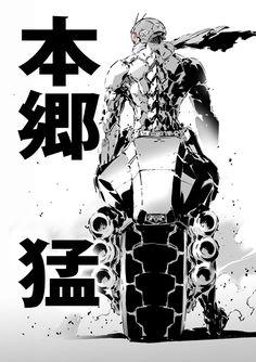 ナデガタサーカス Character Art, Character Design, Japanese Superheroes, Kamen Rider Series, Mecha Anime, Cyberpunk Art, Marvel Entertainment, Ghost Rider, Manga Comics