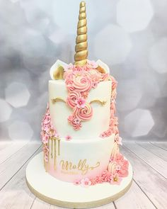 Image result for pastel unicorn smash cake