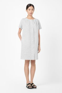 Cotton and linen dress