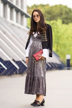 5 Days of Fearless Street Style From Paris Fashion Week Street Style 2017, Spring Street Style, Street Chic, Street Styles, Paris Fashion, Autumn Fashion, Street Fashion, High Fashion, Fall Winter 2017