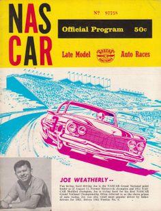 Starkey program cover with Joe Weatherly