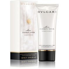Bvlgari Mon Jasmin Noir Body Lotion (1,245 THB) ❤ liked on Polyvore featuring beauty products, bath & body products, body moisturizers, bath & body, bulgari and body moisturizer