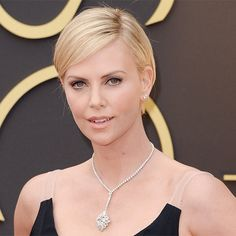 Charlize+Theron's+Changing+Looks+-+2014 +-+from+InStyle.com