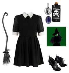 """Halloween Costume idea: Witch"" by gb041112 ❤ liked on Polyvore featuring Retrò, Roberto Coin, Bling Jewelry and Burberry"